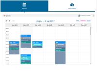 Calendario Vista Settimana